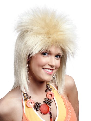 [Enigma Wigs Women's London Punk, Blonde, One Size] (Tina Turner Wigs)