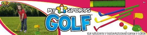 Poof-Slinky - My 1St Sports Golf Set With Padded Foam Clubs And Balls, 780Bl