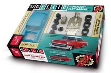 1/25 '57 Chevy Bel Air Slot Car Kit