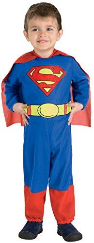Rubie's Costume Co. Kid's 885623 Boys Superman Costume, Multi, Toddler (2-4) US