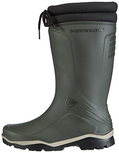 Dunlop K486061 GEV.LRS.BLIZZ GROEN 43, Unisex-Erwachsene Halbschaft Gummistiefel, Grün (Grün(Groen) 08), 43 EU -