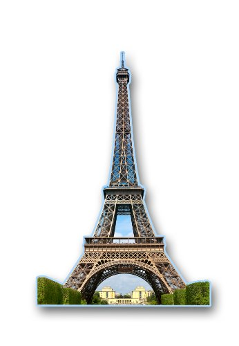 Aquarius Eiffel Tower Magnet