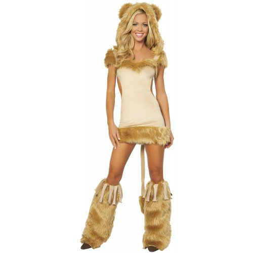 Courageous Lioness Costume - Small - Dress Size 4