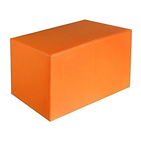 Sella Arancione Dimensioni: 85cm x 43cm x 48cm
