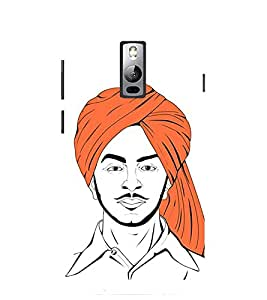 Evaluze bhagat singh Printed Back Cover for ONE PLUS TWO