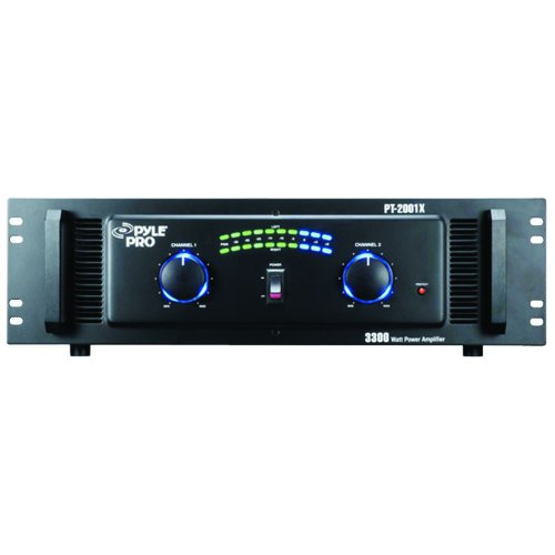 Pyle-Pro PT2001X 3300 Watt Professional DJ Power Amplifier
