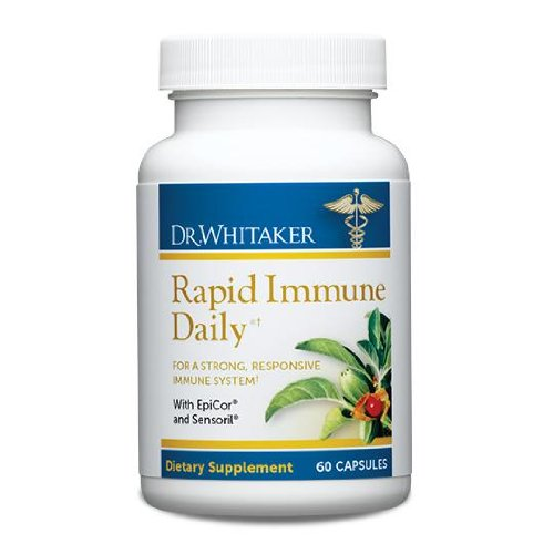 Dr. Whitaker'S Rapid Immune Daily Supplement For Immune Support, 60 Capsules (30-Day Supply)