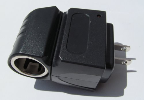 12V Spotlight Mini Rechargeable Led Flashlight A/C Adaptor Accessory-Home/Office Charger (For Use With Usa Power Outlet)