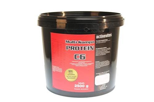 Protein 90 Eiweiß 2,5kg C6 2500g Vanille (9,49EUR / kg)