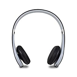 Satechi F3 Wireless Bluetooth Stereo Headphones with Built-in Mic for iPhone, iPad, Android Smart Phones & Tablets