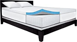 Serta 2.5-Inch Full Gel-Memory Foam Mattress Topper