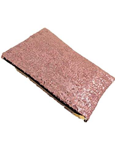 DAYAN Borsa Lady Sparking Dazzling Paillettes Pochette borsa del partito di sera Bag,rosa