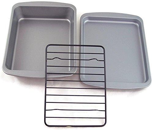 OvenStuff Toaster Oven Bakeware Set (Oven Broiler Set compare prices)