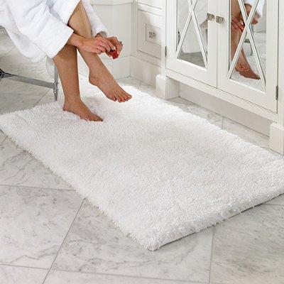 Belize Memory Foam Bath Rug   Off White 30 x 72   Frontgate