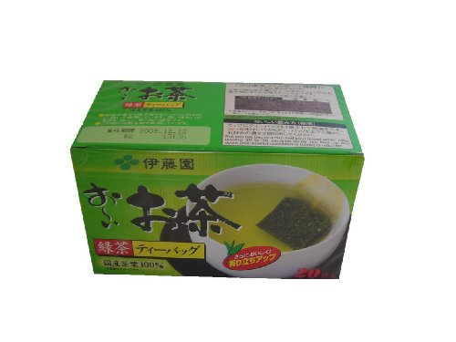 Ito En Oi Ocha Green Tea, 20-Count, 1.4 Ounce Boxes (Pack Of 4)