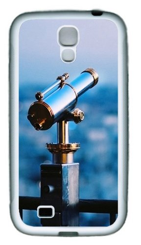 Astronomical Telescope Tpu Rubber Soft Case Cover For Samsung Galaxy S4 Siv I9500 White
