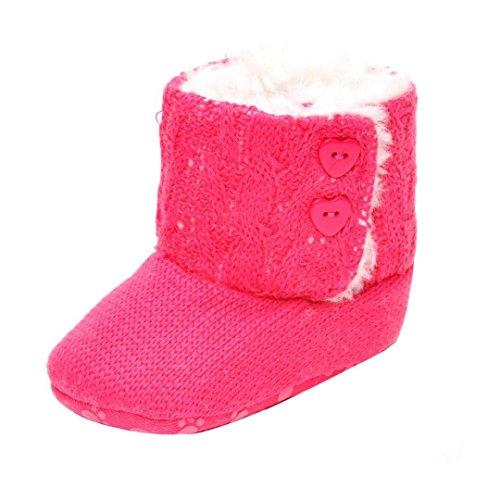 Scarpine neonata,Xinantime Inverno Caldo Cotone Boot Prewalker Shoes (12)