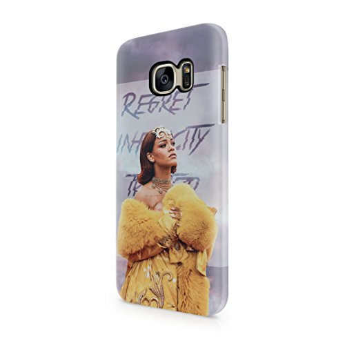 Rihanna-Badgal-RiRi-Quote-Tumblr-Samsung-Galaxy-S7-Hard-Plastic-Case-Cover