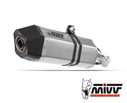 MIVV M.009.LHX - Exhaust For Moto Guzzi Stelvio Speed Edge (Moto Guzzi Parts compare prices)