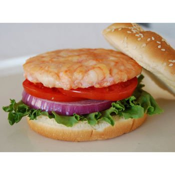 Atwood Lobster Seamazz Premium Shrimp Burger, 3.5 Ounce Patties, Count Of 45