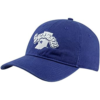 NCAA The Game Indiana State Sycamores School Mascot Adjustable Hat - Royal Blue