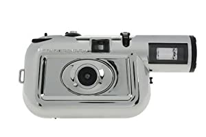 Lomography Chromiac Edition Colorsplash 35mm Film Camera (Chrome/Black)