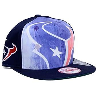 Houston Texans Watercolor Print Snapback Adjustable Hat by NFL