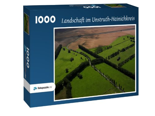Puzzle 1000 Teile - Landschaft im Unstruth-Hainichkreis