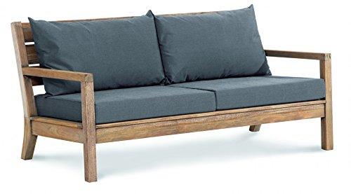 BEST Couch Moretti 2-Sitzer, grau