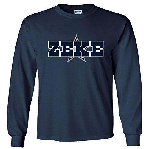 LONG SLEEVE Navy Zeke Dallas