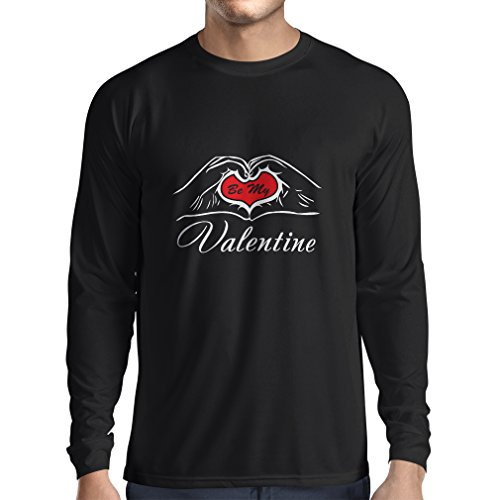 N4153L Be my Valentine Long Sleeve T-shirt, great St. Valentine gift