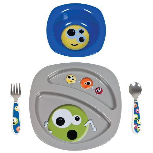 The First Years Entrées Feeding Set, Monsters