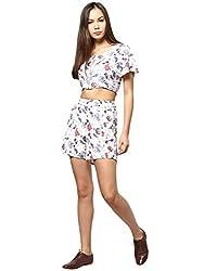 Femella Women's Short (DS-749738-533_White_X-Small)