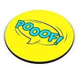 PosterGuy Comic Poof Comic, Poof, Popart, Colorful Fridge Magnet