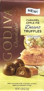 Godiva Chocolatier Desert Truffles Caramel Apple Pie-2 Bags