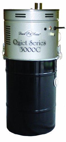Dust Care Dcc-3000C Quiet Series Central Vacuum System, 12 Gallon Capacity, 3Hp, 17 Amp, 120V, 91 Cfm Airflow front-344293