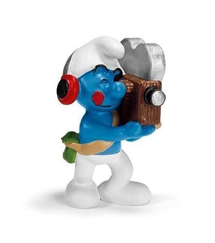 Schleich Cameraman Smurf by Schleich TOY (English Manual)