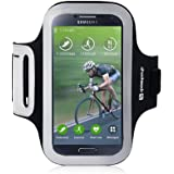 "Brassard Armband Sport ""Shocksock"" pour Samsung Galaxy S4 - Noir"