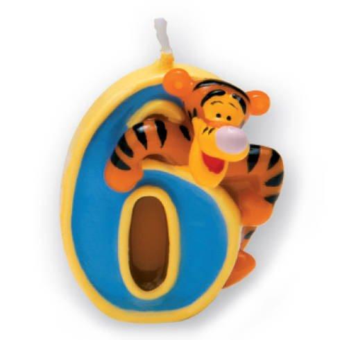 Kerze 6 Winnie Pooh, 3D