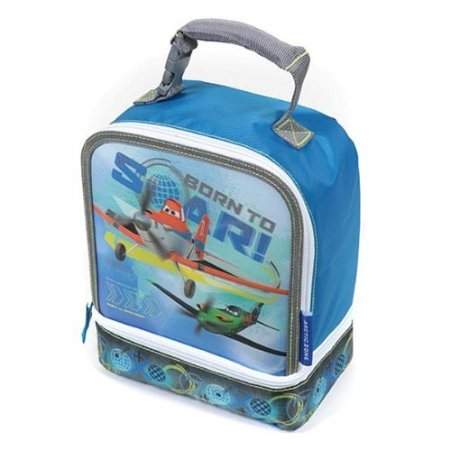 Disney Planes Dual Compartment Lunch Bag 'Born to Soar'