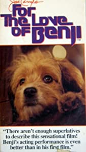For the Love of Benji [VHS]
