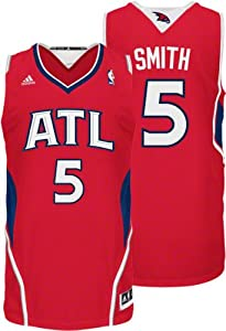 NBA Atlanta Hawks Red Swingman Jersey Josh Smith #5 by adidas