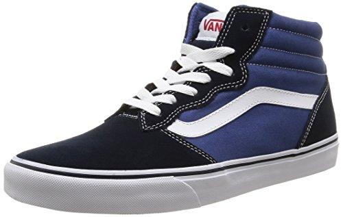 Vans - M Milton Hi Suede, Sneakers da uomo, blu (suede canvas/navy/stv navy), 41