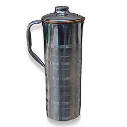 AsiaCraft Stainless Steel Copper Bottle Jug with Lid