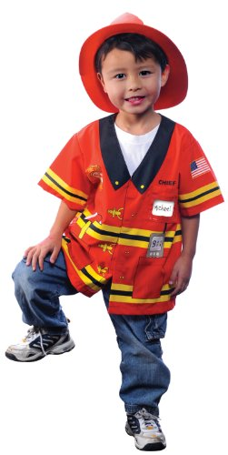 My 1st Career Gear Firefighter Shirt Costume Child Toddler