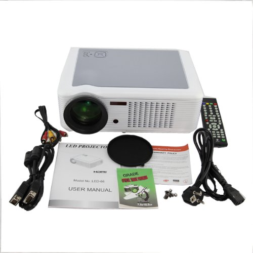 DB Power HD 1080P Projector LCD Home Theater Cinema Wii PS3 HDMI TV XBOX360 at Sears.com