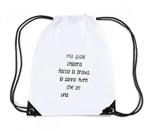t-shirtshock-backpack-budget-gymsac-tdm00165-ma-quale-stasera-faccio-la-brava-size-capacity-11-liter