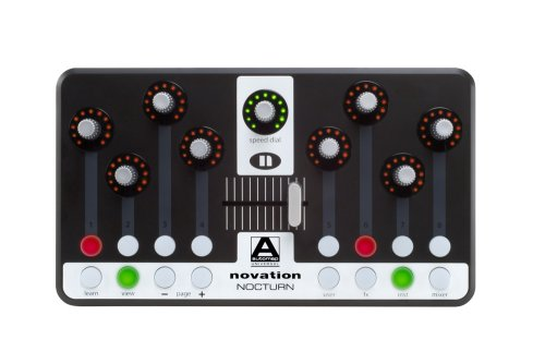Novation Nocturn Compact Intelligent Plug-In Desktop Controller with Automap Universal Technology