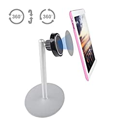 Kebelo® Mcd4 (Portable - Aluminum) Universal Magnetic Kitchen and Desk Smartphone Stand - For Ipad, Tablets And Cell phones