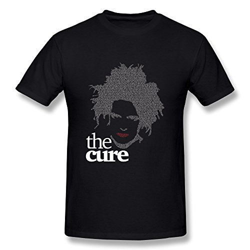 Uomo's The Cure T-Shirt- Nero